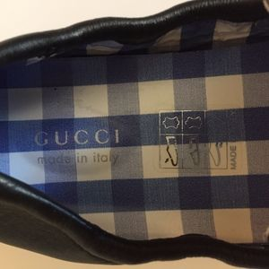 4719dc2227 Gucci Shoes - GUCCI Noel Driving Loafer Black Leather (Toddler)